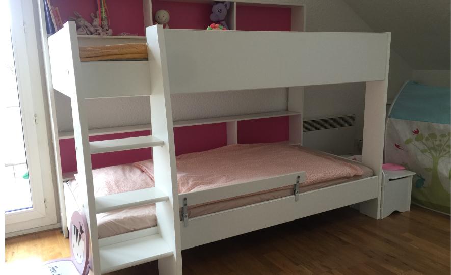 Mon avis sur le lit mezzanine: les avantages et les inconvénients
