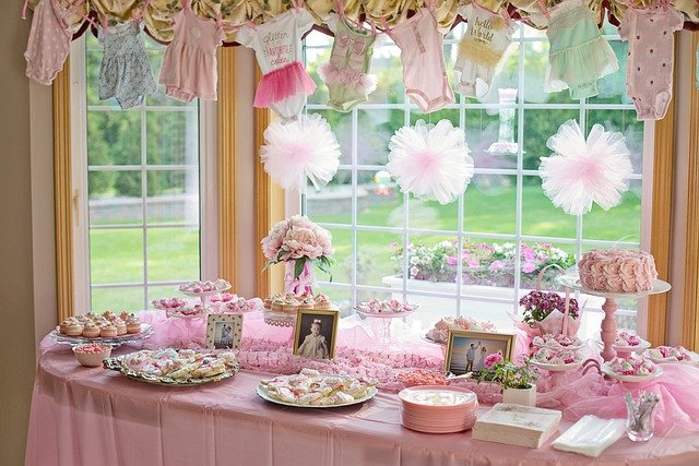 décoration baby shower